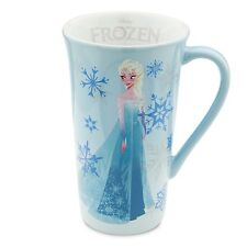 NEW DISNEY STORE ORIGINAL ELSA FROZEN MUG LATTE COFFEE TEA CUP