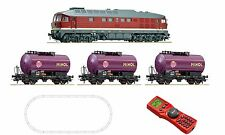 ROCO 51271 Ludmilla Start set digitale BR132 minol-zug MULTIMAUS NUOVO conf.
