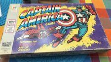 1977 Milton Bradley Marvel Captain America Falcon Board Game Vintage Avengers
