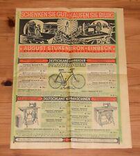Original Katalog August Stukenbrok Einbeck vor 1930 Fahrrad-Fabrik Fahrradhaus