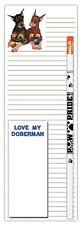 Doberman Pinscher Notepad & Pencil Gift Set
