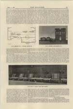 1921 conjunto generador de motor de Lancashire camiones eléctrico de carga