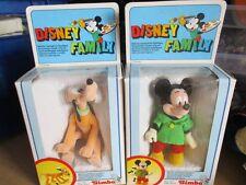2x DISNEY FAMILY Play personaggio Topolino & PLUTO 12 cm Simba Scatola Originale