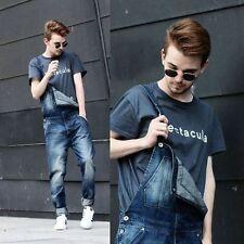 Cotton Big & Tall Dungarees Regular Jeans for Men