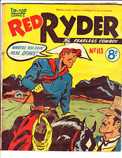 """Red Ryder No 113 1950's -Australian-""""Whatre You Doing Here Drake Cover ! """""""
