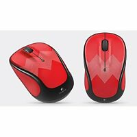 Logitech Wireless Mouse M325 M325C Red 910-004449 Brand New