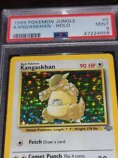 PSA 9 Kangaskhan Jungle Set Pokemon Card 5/64 Holo Rare 1999 Mint