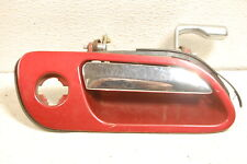 95-02 LINCOLN CONTINENTAL 93-98 MARK VIII right RH passenger DOOR HANDLE red