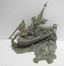 Aurora 1965 George Washington Crossing The Delaware Model Kit Built Not Complete