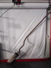 55702049 MARMITTA TUBO DI SCARICO CON SILENZIATORE TERMINALE FIAT PUNTO EVO 1.3