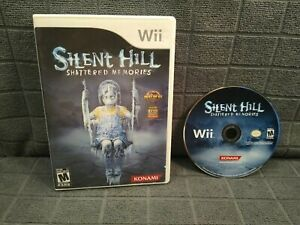 SILENT HILL: SHATTERED MEMORIES Nintendo Wii game + CASE! Tested & Works