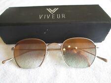 Viveur bronze frame sunglasses. Oscar C04. With case.