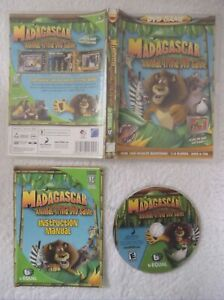 14689 - Madagasscar Animal Trivia DVD Game - PC (2006) Not Applicable