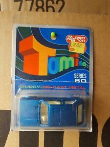 Tomica F5 - VW GOLF GLS [BLUE] MINT VHTF AUSTRALIA BLISTER CARD CARD GOOD JAPAN