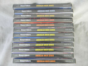 collection of 12 Easyriders Video Magazine DVDs   sealed new/old