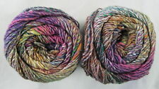 40% OFF! 100g Noro KIBOU Colorful Cotton Wool Silk Self Shading Yarn #14