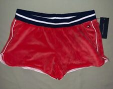 Girls Size XL X-Large 16 Tommy Hilfiger Velour Running Shorts Nwt