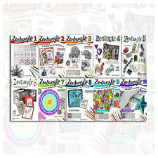 Zentangle Series Collection 10 Books Set By Suzanne McNeill (Zentangle 1 to 10)