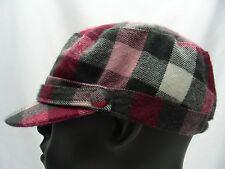D&Y - à carreaux - Taille Unique Réglable Cadet style style chapeau