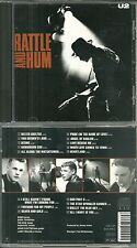 """CD - U2 : EN CONCERT LIVE """" RATTLE AND HUM """" / COMME NEUF - LIKE NEW"""