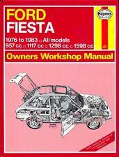 Ford Fiesta 1976-83 957cc 1117cc 1298cc 1598cc Haynes workshop manual