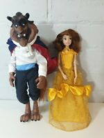 Beauty And The Beast Disney Store Classic Dolls  belle bending arms