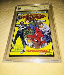 Amazing Spider-Man #129 CBCS 9.6  SS 1st Punisher 2004 John Romita Sr & Conway