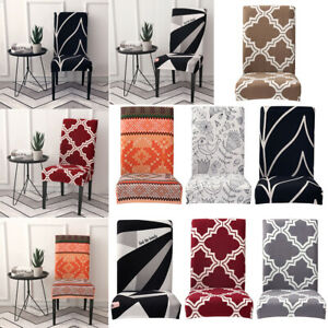 Modern Elastic Removable Chair Cover Stretch Seat Case Slipcover Banquet Decor
