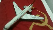 VINTAGE TIN TOY JET FRICTION IL 62 INTERCONTINENTAL AIRLINE AIRPLANE AIRCRAFT