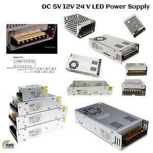 AC - DC 5V/12V/24V Universal Regulated Switching Power Supply for LED Strip CCTV