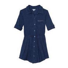 SPLENDID 100% Cotton INDIGO Long Sleeve Knit Dress GIRL SIZE 6X NWT