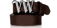 Brown Unisex Vivienne Westwood 5874 VW Monogram Belt (Can be cut to size)rrp£90