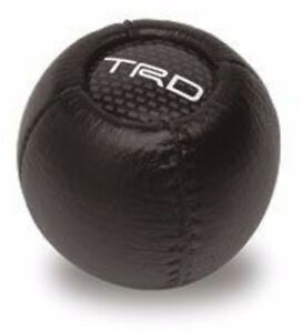 NEW Genuine TOYOTA leather TRD Shift Knob fits M12 x 1.25 metric TACOMA 4RUNNER