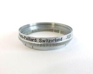 Bolex Paillard Metal Push On 33.5mm Filter Adapter