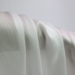 1Yard Crinkled Satin Chiffon Fabric Crepe Charmeuse Chiffon Material For Skirt