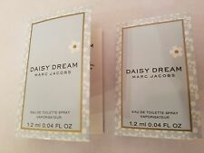 2 Marc Jacobs Daisy Dream Eau De Toilette Spray Sample Vial  1.2 ml each