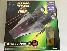 Star Wars - A Wing Fighter with Pilot - POTF