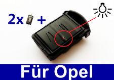 2T Schlüssel Gehäuse für Opel Astra Corsa DTI Vectra Meriva Agila Combo+ 2TASTER