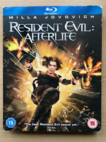 Resident Evil Afterlife Bu-ray 2010 Zombie Horror Film Movie with Slipcover