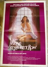 THE HOUSE ON SORORITY ROW.  1982. One Sheet Movie Poster.
