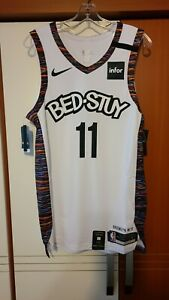 Kyrie Irving 2019-20 Brooklyn Nets Bed-Stuy City Edition Authentic Jersey 44+2