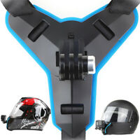 For Gopro Xiaoyi DJI Action Camera Motorcycle Full Face Helmet Chin Mount Holder