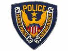 US Hastings Nebraska Police Patch