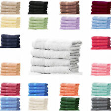 Linens Limited Solid Pattern Traditional Bath Towels