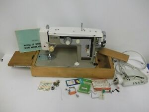 New Home Electric Sewing Machine & Pedal Model 675 Janome