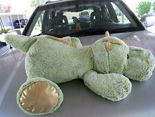Giant floppy plush stuffed Green Dragon