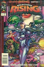Wildstorm Rising #1 Wildcats Gen Newsstand $1.95 Price Variant Image B NM/M 1995