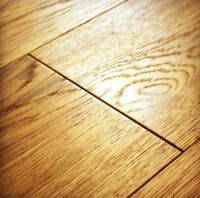 Engineered Wood Flooring Click Brushed Oiled Oak Floor Wide Real Wooden Hardwood
