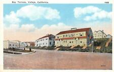 Bay Terrace, Vallejo, CA Neighborhood Homes ca 1920s Vintage Postcard