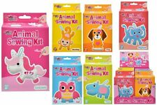 Kids Childrens Make your own Felt Animal Sewing Kit Arts & Crafts Fun New